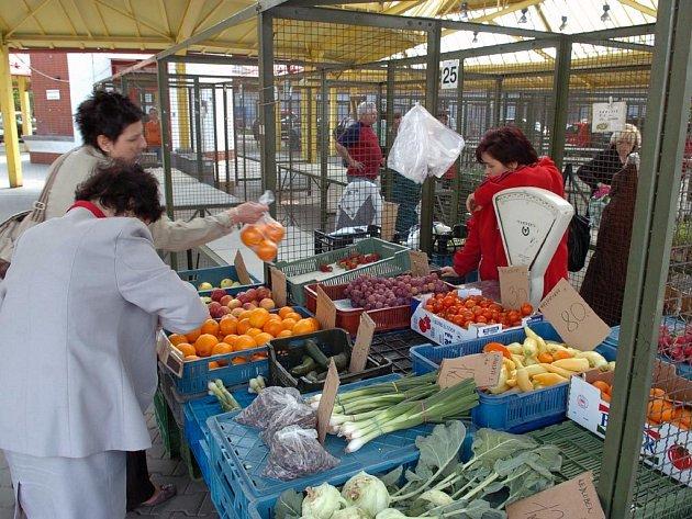 Tržnice v centru Ostravy