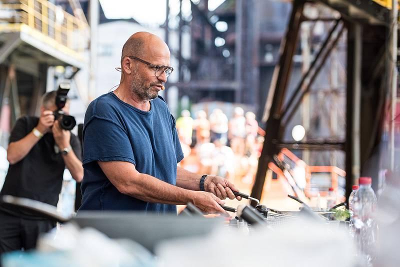 Zdeněk Pohlreich na festivalu Garden Food Festival v Dolní Oblasti Vítkovice. Ilustrační foto.