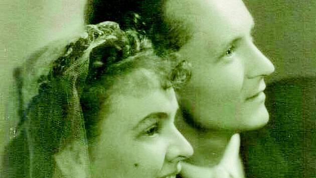 Svatba manželů Halfarových