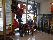Den požární bezpečnosti v ostravském muzeu.