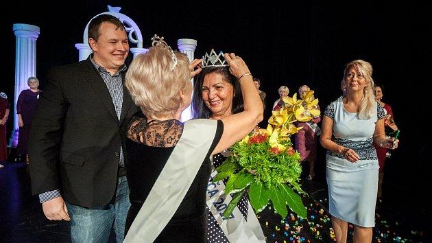 Miss Babča 2017 v DK Akord v Ostravě, fotografie z 21. zaří 2017.