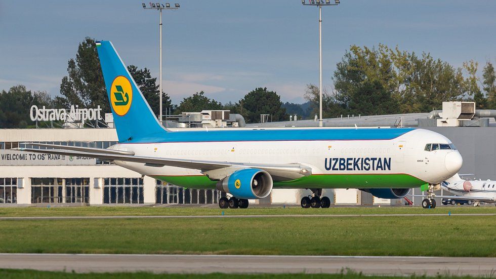 Uzbekistán Airw. Ilustrační foto.