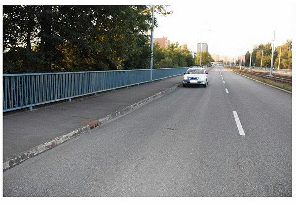 Místo činu. Kpřepadení došlo minulý týden ve čtvrtek 11.srpna kolem 17.45hodin na ulici Výškovické vOstravě-Výškovicích.
