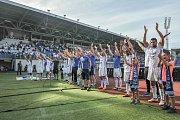 Utkání 26. kola první fotbalové ligy: Baník Ostrava - Sparta Praha, 28. dubna 2018 v Ostravě.