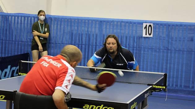 Mezinárodního turnaje Czech Para Open 2021 v Ostravě se zúčastnilo 85 handicapovaných stolních tenistů a tenistek z 19 zemí.