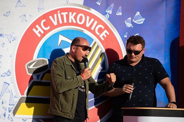 Otevření sezony HC Vítkovice vareálu Ridera Sport ve Vítkovicích, 10.zaří 2019vOstravě.