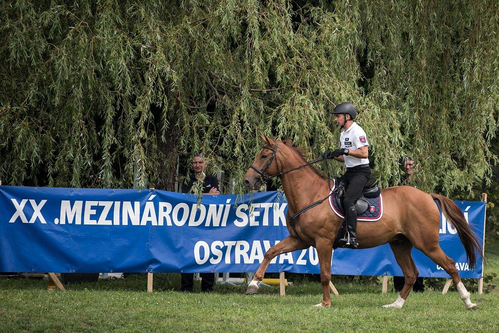 XX. ročník Mezinárodního setkání jízdních policií v Ostravě.
