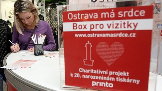 Charitativní projekt Ostrava má srdce.