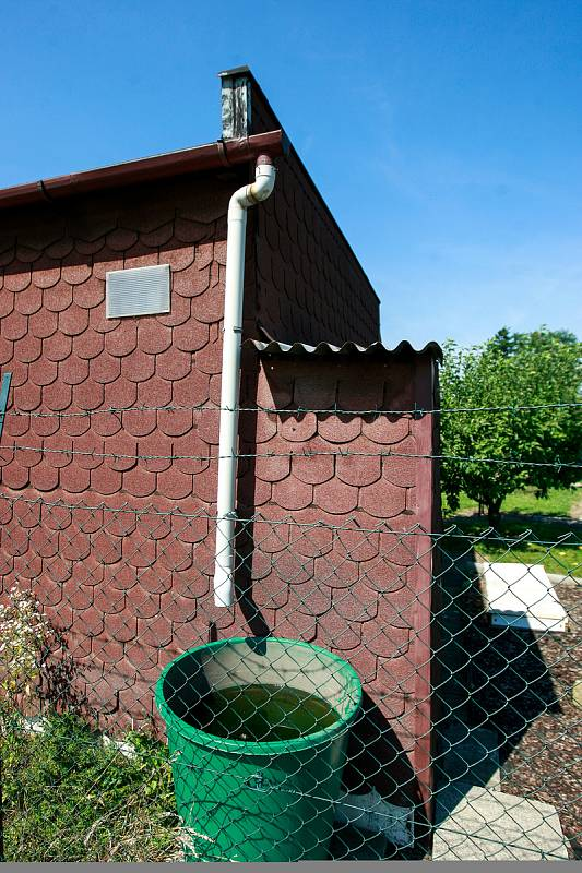 Zahrádkářská kolonie v Ostravě-Výškovicích. Ilustrační foto.