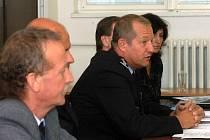 Z tiskové konference severomoravské policie