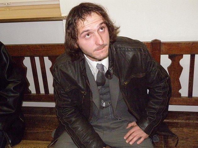 Před soudem ve středu vypovídal Tomáš Sopúch, oběť loňské hřbitovní střelby v Opavě.