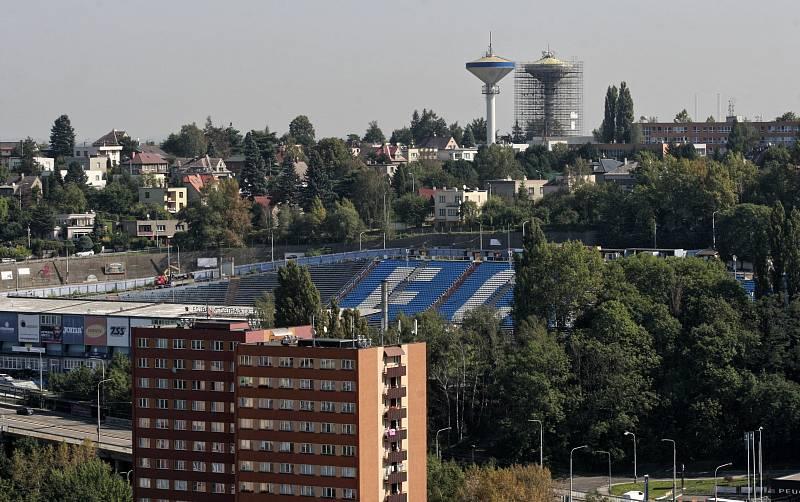 Ostravské Bazaly.