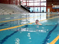 STEJNÉ, ALE... Na první pohled se v bazénové hale nezměnilo nic, pocitově je ovšem zřejmé lepší větrání i vytápění.