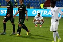 11. kolo Synot ligy: Baník Ostrava - Příbram 0:2 (0:1)