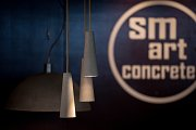 Meat design 2018 v Dolní Oblasti Vítkovice, 24. listopadu 2018 v Ostravě. Na snímku Smart Concrete - betonové výrobky.