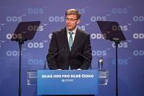 28. kongres ODS v hotelu Clarion Ostrava, 13. ledna 2018. Na snímku Martin Kupka.