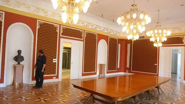 Na návštěvě v Rothschildově zámku v Ostravě-Vítkovicích