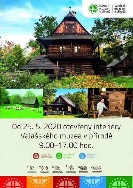 Valašské muzeum vpřírodě zahajuje znovu sezónu pro návštěvníky