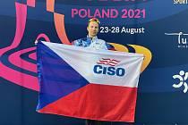 Část ze 71 talentovaných sportovců Moravskoslezského kraje, kterým v současné době pomáhá Centrum individuálních sportů Ostrava.