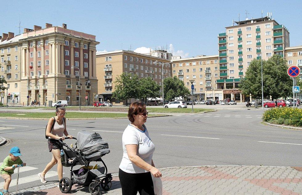 Deník na návštěvě v Ostravě-Porubě, léto 2021.