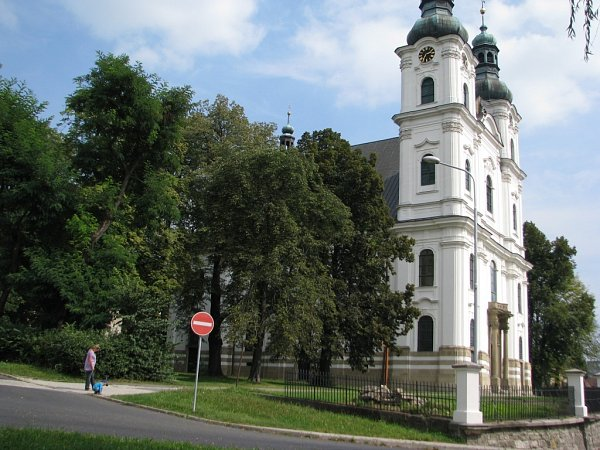Bazilika minor. Chrám Navštívení Panny Marie ve Frýdku-Místku, jinak také Bazilika minor, patří knejvýznamnějším poutním místům severní Moravy a Slezska. Věřící sem chodili už po roce 1650.