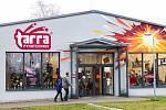 Prodejna zábavní a profesionální pyrotechniky TARRA pyrotechnik, 28. prosince 2018 v Ludgeřovicich u Ostravy.