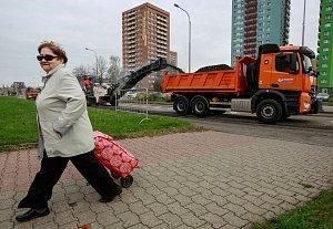 Letošní opravy silnic v Ostravě