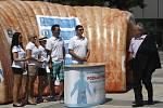 Roadshow na podporu boje s rakovinou.