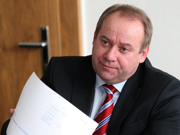 Generální ředitel společnosti Evraz Vítkovice Steel Zbyněk Kvapík.