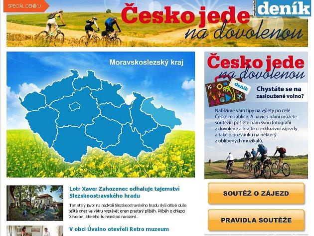 Česko jede na dovolenou