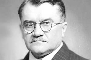 Národohospodář Karel Engliš.