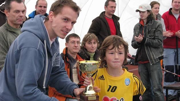 Turnaj elévů Bystroň zateplení Cup vyhráli mladí hráči domácího Pepina
