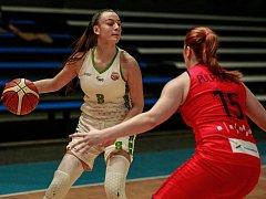 Basketbalistyk SBŠ Ostrava. Ilustrační foto.