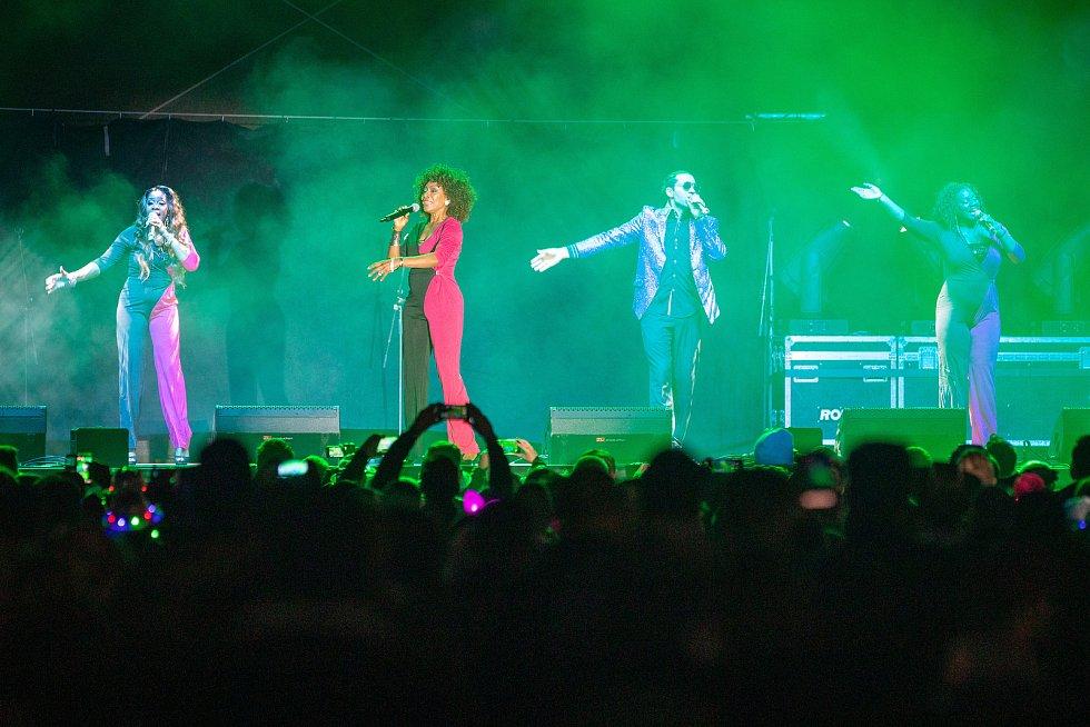 Karolina Oktobeerfest, 12. října 2019 v Ostravě. Na snímku Boney M.