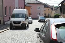 V ulici Čs. legií