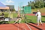 Vítězka v běhu na 300m Elena Nováková z Příbora.