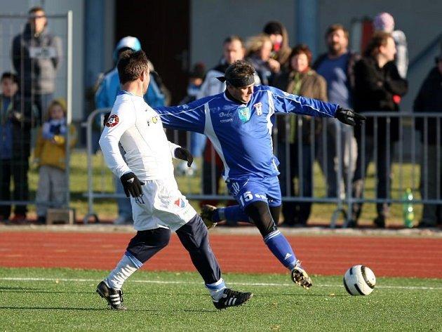Fotbalový zápas bývalých fotbalových ikon Baníku a Vítkovic.