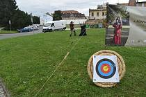 Lukostřelecký turnaj Krnovský šíp se koná v sobotu 2. října.