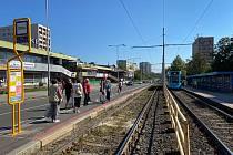 Okolí Kotvy projde rekonstrukcí, 4. července 2020 v Ostravě.