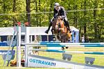 Jezdectví - Velká cena Ostravy (český skokový pohár), 18. května 2019 ve Staré Bělé. Na snímku Pavel Holešovský.