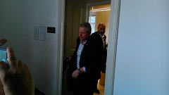 Bývalý trenér Baníku Ostrava Vlastimil Petržela (na archivním snímku z jednání u Okresního soudu v Opavě) byl definitivně zproštěn obžaloby.