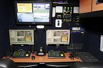 Mobilní monitorovací centrum vychází ze sériového modelu Mercedes-Benz Sprinter.