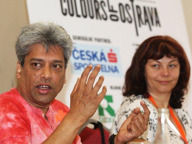 Z tiskové konference v Ostravě