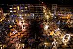 Vánoční trhy v Ostravě, rok 2020.