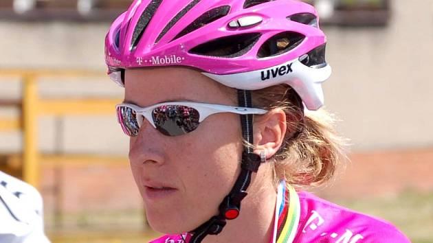 Němka Judith Arndtová, bývalá mistryně světa a jedna z nejlepších cyklistek posledních let.