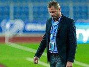 ZASE JEN BOD. Trenér fotbalistů Baníku Ostrava Radim Kučera dál čeká, stejně jako jeho svěřenci, na druhé ligové vítězství.