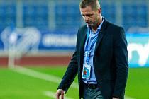 Trenér fotbalistů Baníku Ostrava Radim Kučera.