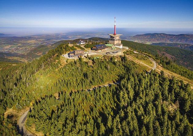Turisty vyhledávaná lokalita - Lysá hora.
