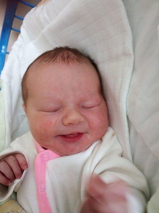 Viktorie Martínková, Sádek, narozena 21. července 2021 v Krnově, míra 50 cm, váha 3560 g. Foto: Pavla Hrabovská