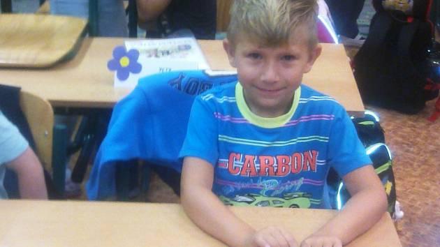 Ondřej Michalec, 7 let, Ostrava-Poruba, ZŠ Ostrava-Poruba